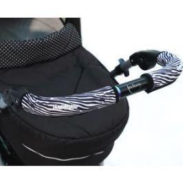 Чехлы Choopie CityGrips (Сити Грипс) на ручку для универсальной коляски длинные 510/9334 Zebra
