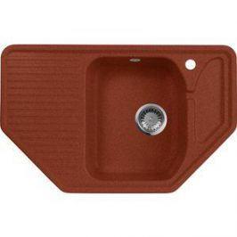 Кухонная мойка AquaGranitEx M-10 795х495 красный марс (M-10 (334))