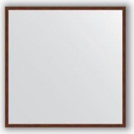 Зеркало в багетной раме Evoform Definite 68x68 см, орех 22 мм (BY 0654)