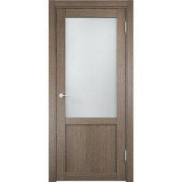 Дверь ELDORF Баден-4 остекленная 2000х800 экошпон Дуб дымчатый
