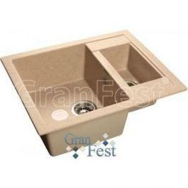 Мойка кухонная GranFest гранит 610x495 (Gf-Q610K песок)