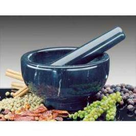Ступка с пестиком Kuchenprofi D 11 см H 7 см (мрамор) черная 10 0243 10 11