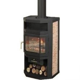 Печь-камин Мета Ока (6 кВт)(01379)