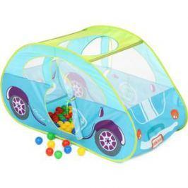 Домик Bony в комплекте с шариками Голубая машинка, LI519, 130х70х80, 100 шаров
