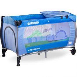 Манеж-кровать Caretero Medio Classic blue синий (TERO-3835)