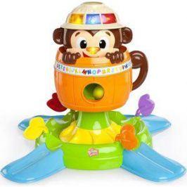 Развивающая игрушка Bright Starts Обезьянка в бочке (52094)