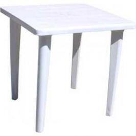 Стол пластиковый СтандартПластик квадратный белый (80*80 130-0019)