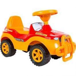 RT ОР105 Каталка машинка Джипик с клаксоном красная