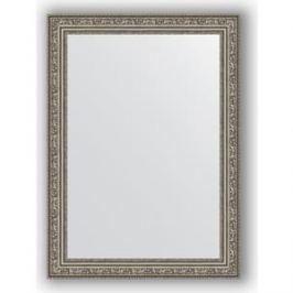 Зеркало в багетной раме поворотное Evoform Definite 54x74 см, виньетка состаренное серебро 56 мм (BY 3040)