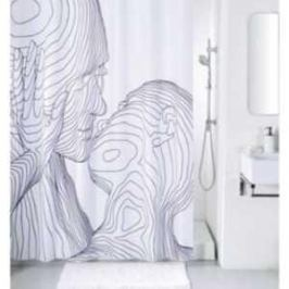 Штора для ванной IDDIS Black and White 200 180 см (SCID150P)