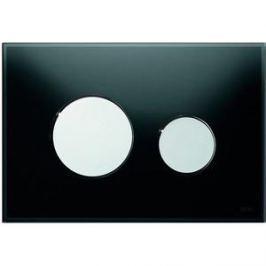 Панель смыва TECE TECEloop (9240656) стекло черное, клавиши хром глянцевый