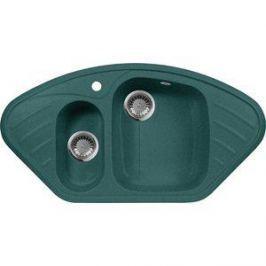 Кухонная мойка AquaGranitEx M-14 950х500 зеленый (M-14 (305))