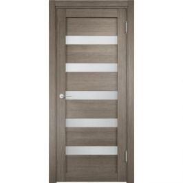 Дверь ELDORF Эко Эко-3 остекленная 1900х600 экошпон Вишня малага