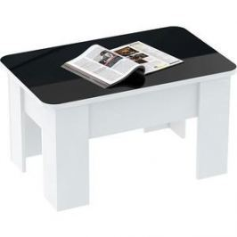 Стол трансформер ВасКо СТ8005 белый/черно-белый
