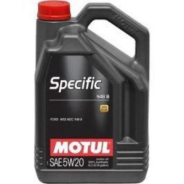 Моторное масло MOTUL Specific 948B 5W-20 5 л