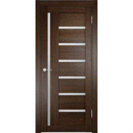 Дверь ELDORF Берлин-2 остекленная 1900х550 экошпон Дуб табак