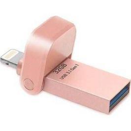 Флеш-диск A-Data i-Memory AAI920-32G Rose Gold