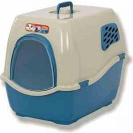Био-туалет Marchioro BILL 2F сине-бежевый 57x45x48h см для кошек