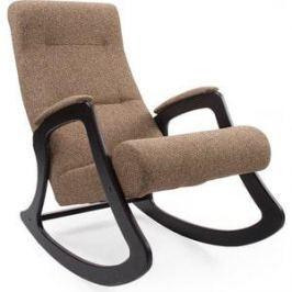 Кресло-качалка Мебель Импэкс МИ Модель 2 венге, обивка Malta 17