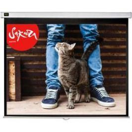 Экран для проектора Sakura 183x183 Wallscreen 1:1 настенно-потолочный 102