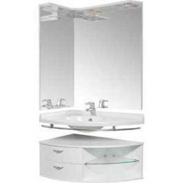Комплект мебели Aquanet Корнер 55х80 угловой Open R