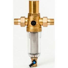Фильтр предварительной очистки Гейзер Бастион 7508205233 (3/4 для холодной воды с защитой от гидроудара d60) (32683)