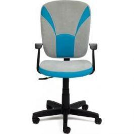 Офисное кресло TetChair OSTIN ткань, голубой/серый, 2613/12
