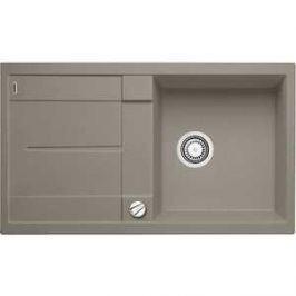 Мойка кухонная Blanco Metra 5 s серый беж с клапаном-автоматом (517348)