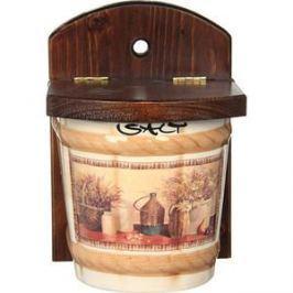 Настенная банка для сыпучих продуктов (соль) LCS Натюрморт (LCS871V-AL)