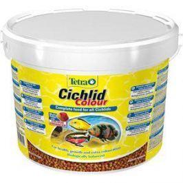 Корм Tetra Cichlid Colour Complete Food for All Cichlids улучшение окраса для всех видов цихлид 10л