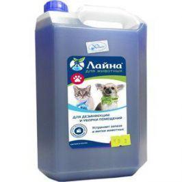 Средство Лайна для уборки и дезинфекции мест обитания домашних животных 5л