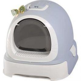 Туалет Makar бокс серый с выдвижным поддоном для кошек 55х42х43 см (МАК100)