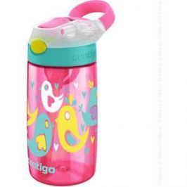 Детская бутылочка для воды 0.42 л Contigo Gizmo Flip (contigo0468) розовый