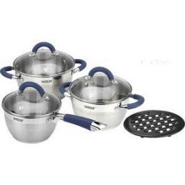 Набор посуды 7 предметов Vitesse Blue Arch (VS-2046)