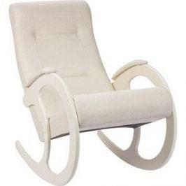 Кресло-качалка Мебель Импэкс МИ Модель 3 дуб шампань, обивка Malta 01 А