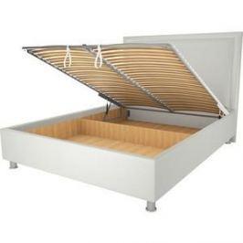 Кровать OrthoSleep Нью Йорк механизм и ящик белый 120х200