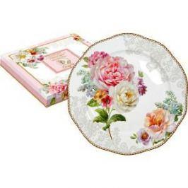 Тарелка десертная Easy Life (R2S) Цветочная романтика (R2S376_ROLC-AL)