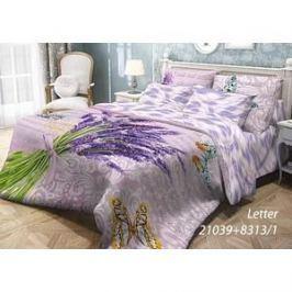 Комплект постельного белья Волшебная ночь 1,5 сп, ранфорс, Letter с наволочками 50x70 (703886)