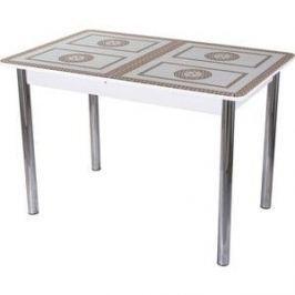 Стол со стеклом Домотека Гамма ПР (-1 БЛ ст-71 02)