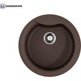 Кухонная мойка Omoikiri Yasugata 48R-DC, 485х485, темный Шоколад (4993211)