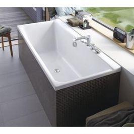 Акриловая ванна Duravit P3 COMFORTS 170x75 см с ножками, левая (700375000000+790100000000000)