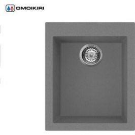 Кухонная мойка Omoikiri Bosen 41-PL, 410х500, платина (4993218)