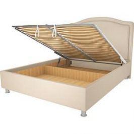 Кровать OrthoSleep Калифорния бисквит механизм и ящик 90х200