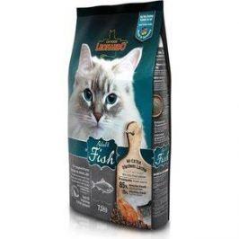 Сухой корм Leonardo Adult Fish с рыбой для здоровья кожи и шерсти для кошек 7,5кг (758425/758422)