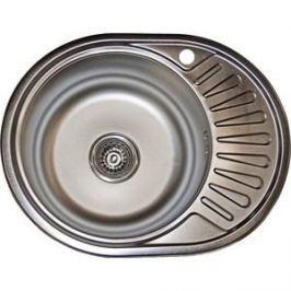 Кухонная мойка Pegas 57х45 0,6 правая, матовая (5745W R мт)