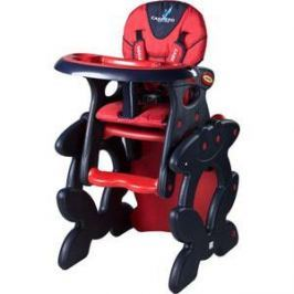 Стульчик для кормления + столик Caretero Primus Red (красный)