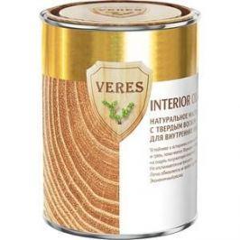 Масло для древесины VERES OIL INTERIOR с воском для внутр.работ № 2 сосна 0.9л.