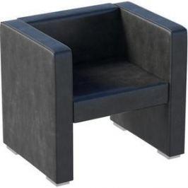 Кресло Мебелик Бриф экокожа чёрный.