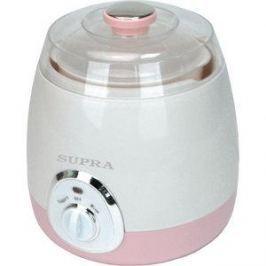 Йогуртница Supra YGS-7001 розовый/белый