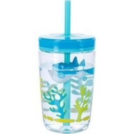 Детский стакан для воды с трубочкой 0.47 л Contigo contigo0772 голубой